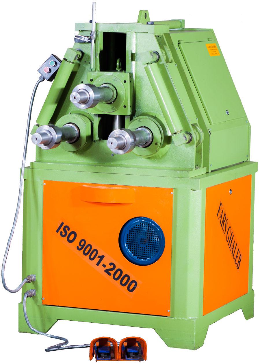 دستگاه نورد سه محوره مکانیکی 10 تن که با قیمت بسیار مناسب و کارایی بالا طراحی شده است.
