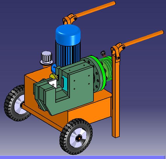 دستگاه میلگردبر هیدرولیک